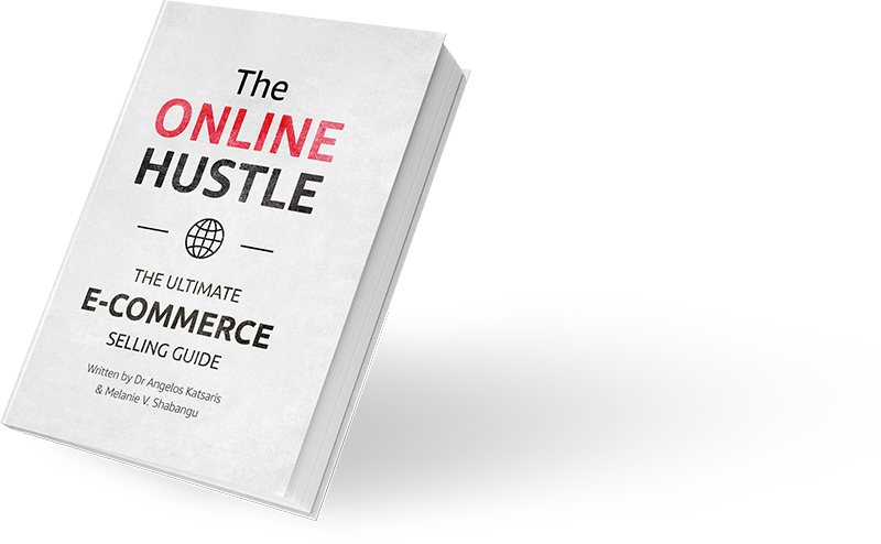 The Online Hustle, written by Dr Angelos Katsaris and Melanie V. Shabangu, now available to buy on Amazon.co.uk